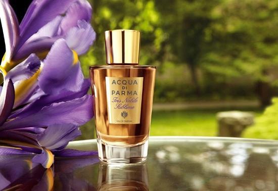 Acqua di Parma presenta Iris Nobile Sublime